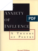 Harold Bloom - The Anxiety of Influence