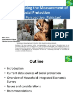Day 3 Session 3 Country Experience on Monitoring Social Protection - Presentation from Pakistan