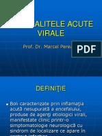 Encefalitele Acute Virale