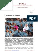 Communications Briefing 007-2013 IMBISA Day