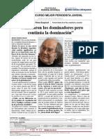 Entrevista Pérez Esquivel La Voz