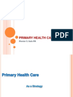Primary Health Care (Review Notes)