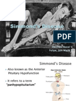 Simmond's Disease MS