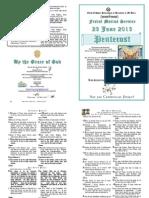 2013 - 23 June - Pentecost Matins