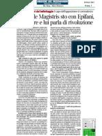 Intervista a Gianni Lettieri 29-Maggio-2013