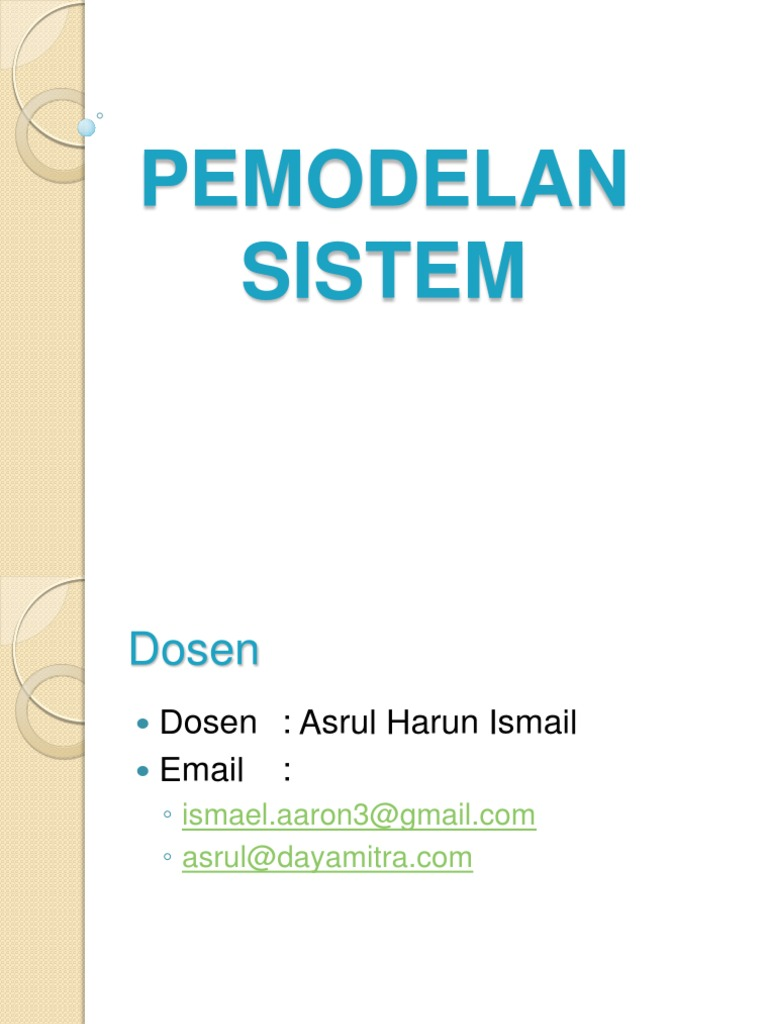Pemodelan sistem 1 rev conceptual model systems theory ccuart Images