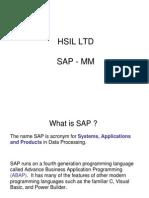 SAP - MM