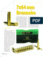 7 x 64 Brenneke - Cartuccia