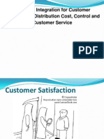 31224944 Logistics Integration for Customer Satisfaction Distribution Cost Control and Customer Service