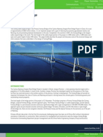 Bentley Structural the Sutong Bridge Analysis Hi Res