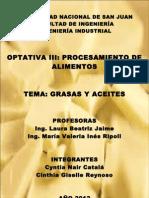 1. GRASAS Y ACEITES ALIMENTARIOS Catalá - Reynoso
