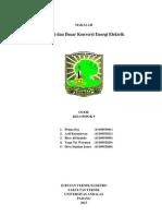 Energi Dan Dasar Konversi Energi Elektrik  --- Motor Induksi