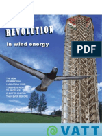 VATT- Vertical Axis Turbine Tower
