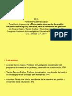 Reseña_Gutiérrez_El concepto emergente de gestión educativa estratégica