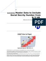 How to Extend Master Data to Include Social Security Number From R3 HRdoc