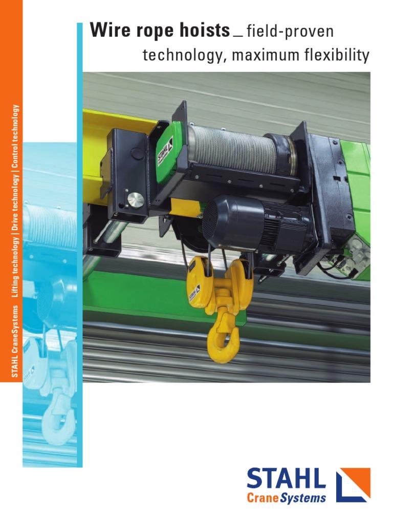 Crane Stahl Wire Rope Hoist Machine Elevator Chain Wiring Diagram
