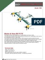 Kampfflieger Blohm Voss BV P.170 1x48
