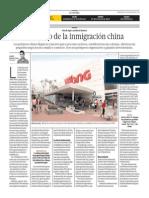 El legado de la  inmigración china
