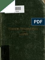 Hebrew Vocab Ular i 00 Harp Rich
