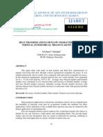 Heat Transer and Fluid Flow Charaectertics of Vertical Symmetrical