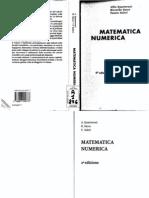 Quarteroni Sacco Salieri - Matematica Numerica