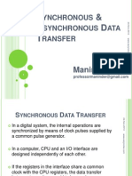 Synchronous and Asynchronous Data Transfer