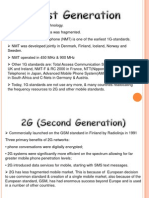 First Generation, 2nd Generation & 3rd Generation