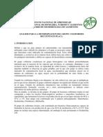 Guia - Analisis Para La Determinacion Del Grupo Coliformes Recuento en Placa .