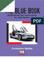 d20M - The Blue Book 2005