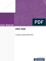 ARK-3420 User Manual Ed.1