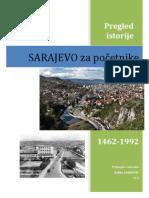 Sarajevo za pocetnike