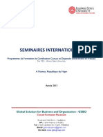 Brochure de Formations de Certification en Français _Illinois State University_GSBO_Niamey_2013