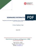 Brochure de Formations de Certification en Français _Illinois State University_GSBO_Niamey_2013