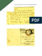 MahatmaGandhiji Letter
