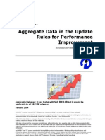 How to Aggregate Data in the Update Rules for Performance