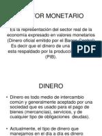 Sector Monetario