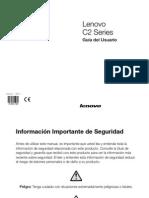 Lenovo C2 Series User Guide V2.0 (Spanish)