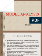 Model Analysis - Satheesh p b