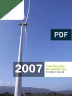 Fersa Informe Anual 2007