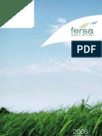 Fersa Informe Anual 2008