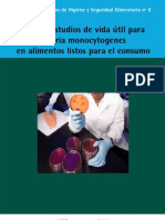 Guia de Estudio de Vida Util Para Listeria Monocytogenes