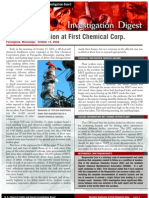 CSB Digest First Chemical Reactive Explosion (2002)