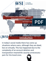 What Happens With a Deceased Person's Social Media Accounts (Facebook, G+, Twitter & LinkedIn)