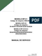 Manual de Servicio Mp6000,7000,8000
