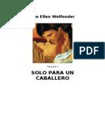 Welfonder, Sue Ellen - Highland 3 - Solo Para Un Caballero