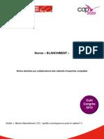 Norme BLANCHIMENT Notice Destinee Aux Collaborateurs Des Cabinets d Expertise Comptable