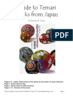 Guide to Japanese Temari Books