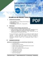 UNI - SILABO DE MS PROJECT BASICO.pdf
