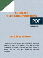 El_ensayo (1) GUIA 2013