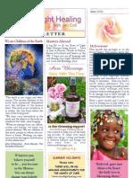 Rose of Light Healing Newsletter June 2013